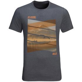 Jack Wolfskin Motosu Lake T-Shirt Men ebony